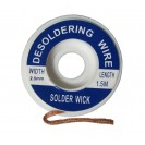 Desolder Braid, Wire, Wick 2.5mm Width, 1.5 Meter Long...